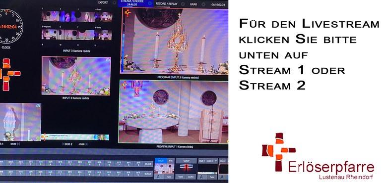 Livestream im Internet