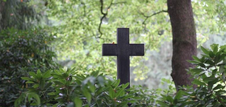 Beerdigung in Stille