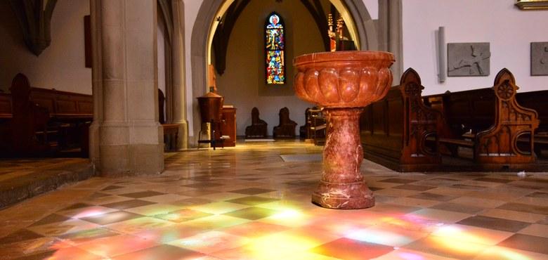 Kirchenraumführung Bezirk Feldkirch
