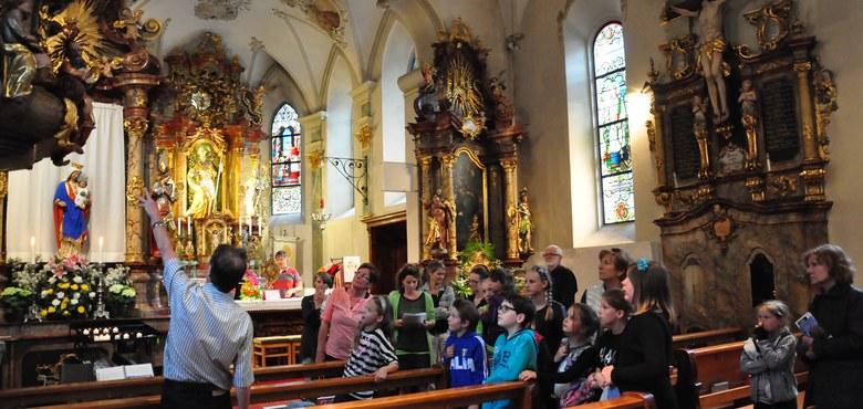 Kirchenraumführung für Kinder