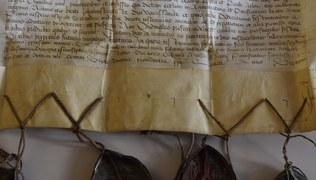 Vorschaubild Ablassurkunde der Pfarrkirche Raggal 1478
