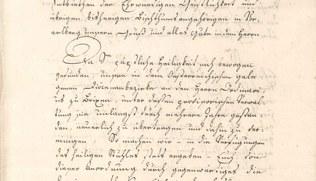 Vorschaubild Abschiedsschreiben des Bischofs von Chur 1816