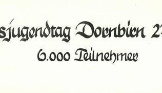Vorschaubild Landesjugendtag Dornbirn am 27. Mai 1956