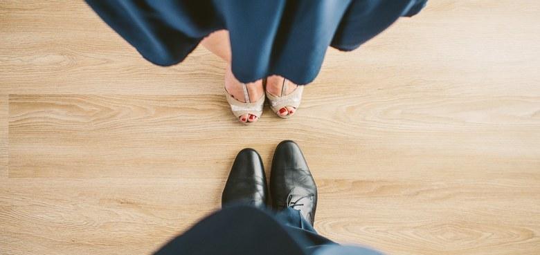 Beziehung, die man tanzen kann