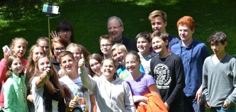 Jugendlicher Besuch aus Doren
