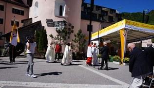 Vorschaubild Gottesdienst und Fahrzeugweihe St. Christoph