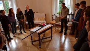 Vorschaubild Maturawallfahrt: Gewinner bei Bischof Benno