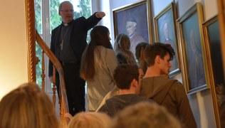 Vorschaubild Röthner Firmlinge zu Besuch beim Bischof