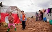 Kinder - Familie im Flüchtlingslager