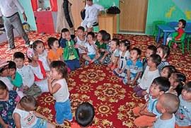 Kindergarten Mongolei