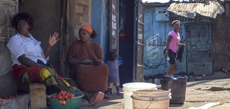 Coronakrise im Mukuru Slum von Nairobi