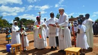 Vorschaubild Einweihung der Geburtenstation in Malambo/Malawi am 29. April 2017