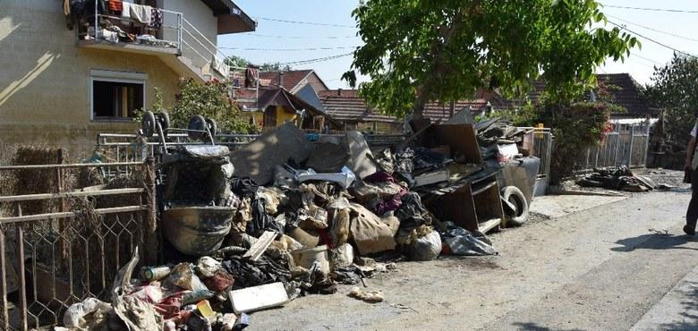 Hochwasser am Balkan
