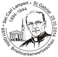 Sonderstempel Carl Lampert