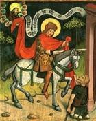 St. Martin und der Bettler