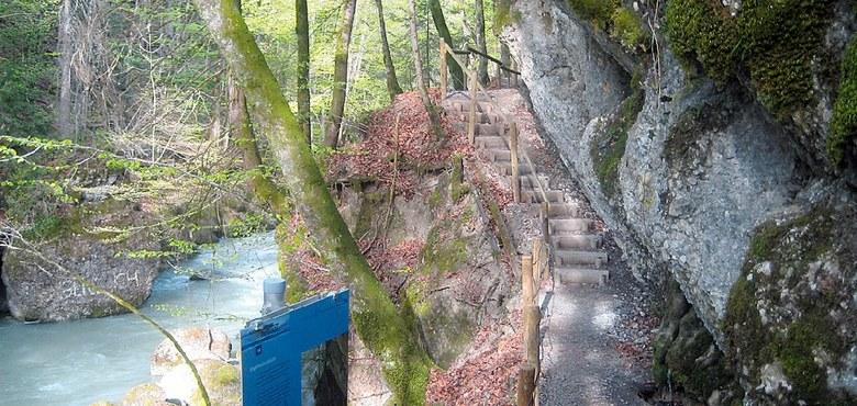 Wasserwanderung in Hittisau