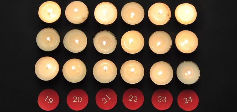18. Dezember: strahlt ein licht auf