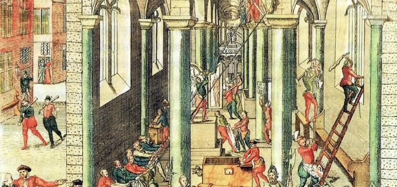 Der reformatorische Bilderstreit und das Konzil von Trient