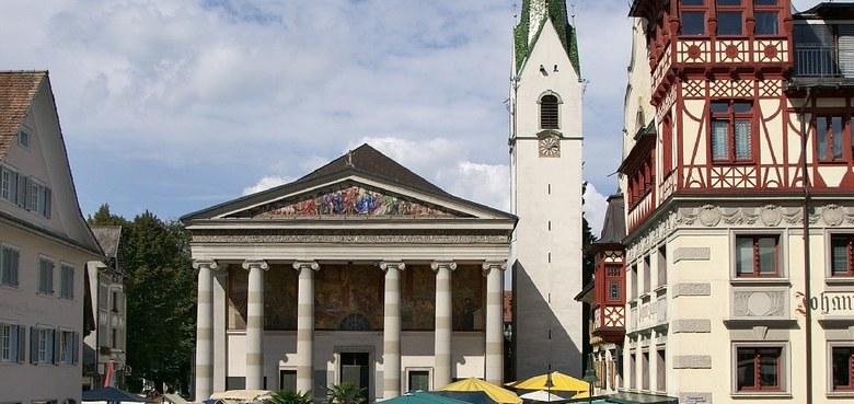 Die Ausrichtung des Gotteshauses