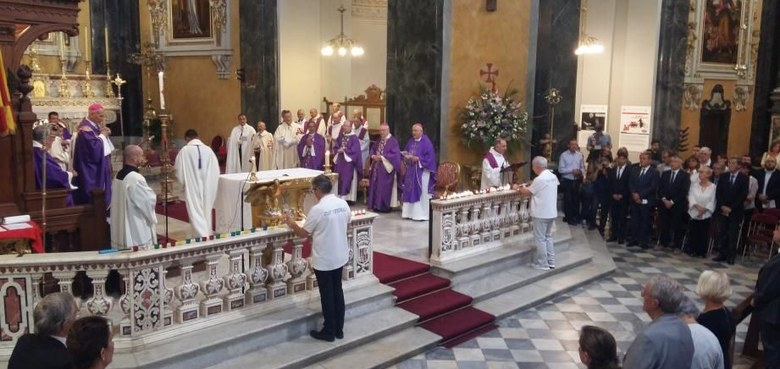 Bischof Benno Elbs in Nizza