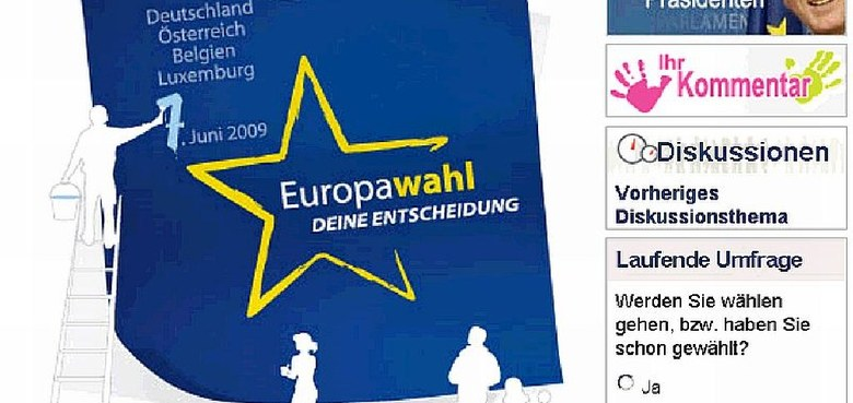 EU-Wahlen - Meldungen im Überblick