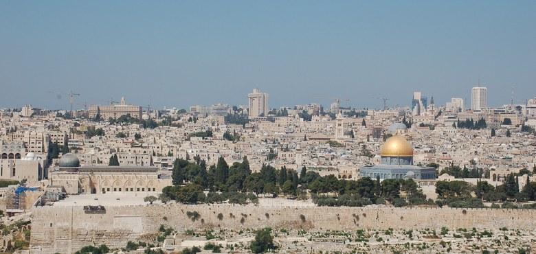 Papst betet um Frieden in Israel