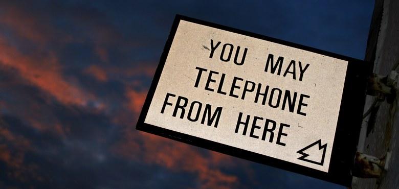 Anruf genügt