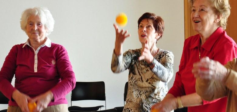 Geistig fit und mit Lebensfreude älter werden in Höchst - ALT.JUNG.SEIN. Kurs