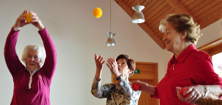 Mit Freude, Humor und Köpfchen älter werden in Lustenau - ALT.JUNG.SEIN Schnuppertermin