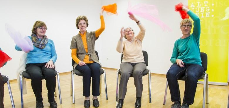 Mit Lebensfreude älter werden