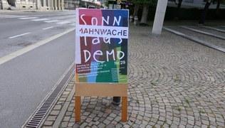 """Vorschaubild Mahnwache """"Solidarität über den Tellerrand hinaus"""""""