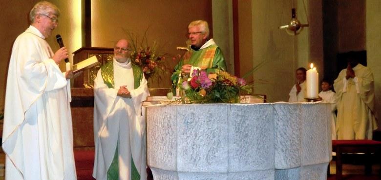 Großer Empfang für die neuen Pfarrer im Seelsorgeraum Bludenz