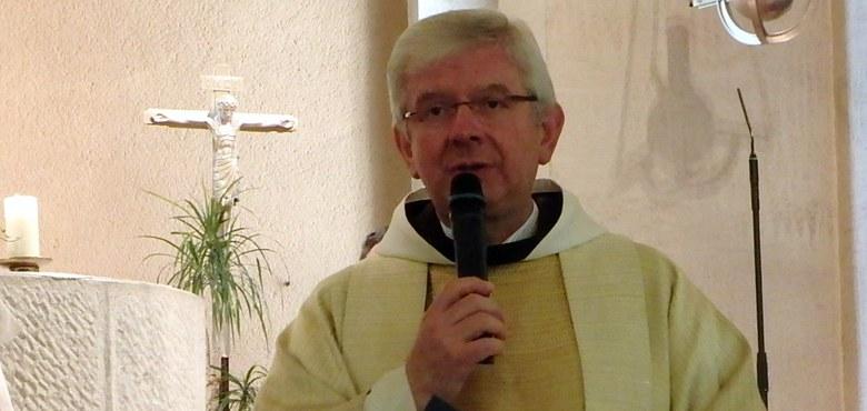 Pater Adrian Buchtzik, OFM, Nachfolger von Pfarrer Peter Haas