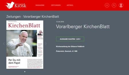 KirchenBlatt - Austria Kiosk