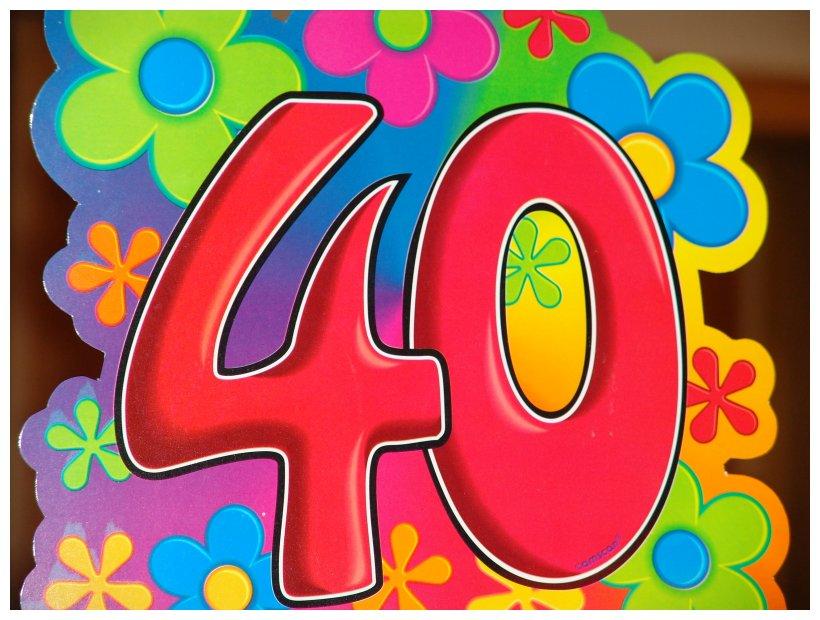 40er geburtstag frau
