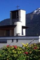 Bürs, Friedenskirche, Glockenturm