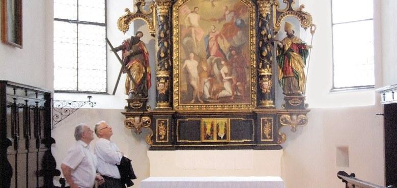 Dreimal ein Raub der Flammen - Bludenzer Dreifaltigkeitskirche neu restauriert