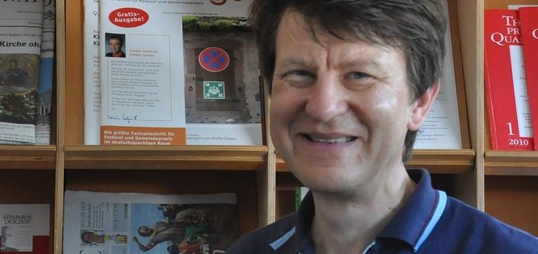 Begeisterung für die Orgel: Helmut Binder