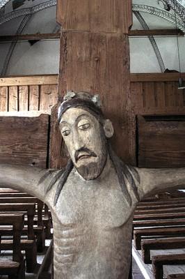 Martinskirche Ludesch - Kreuz