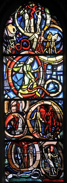 Glasfenster Herz-Jesu