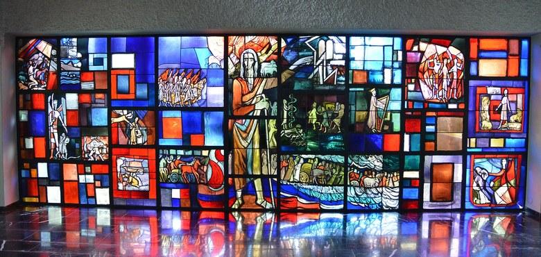 Martin Häusles reifste Kirchenfenster