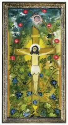 Burtscher Otmar Kreuzigung und Auferstehung