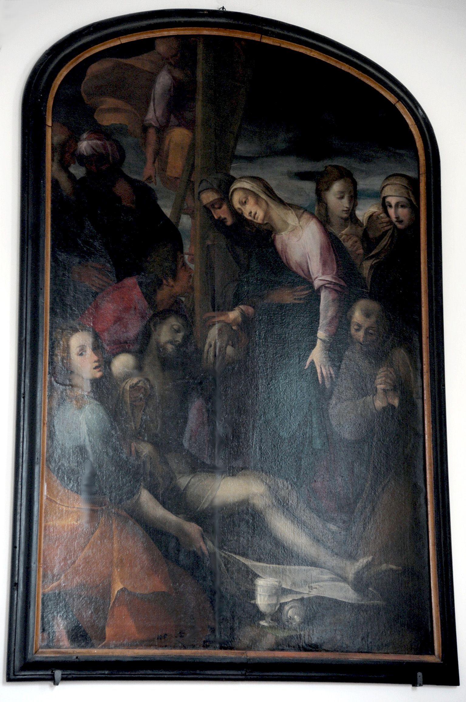 Beweinung Christi (Hochformat)