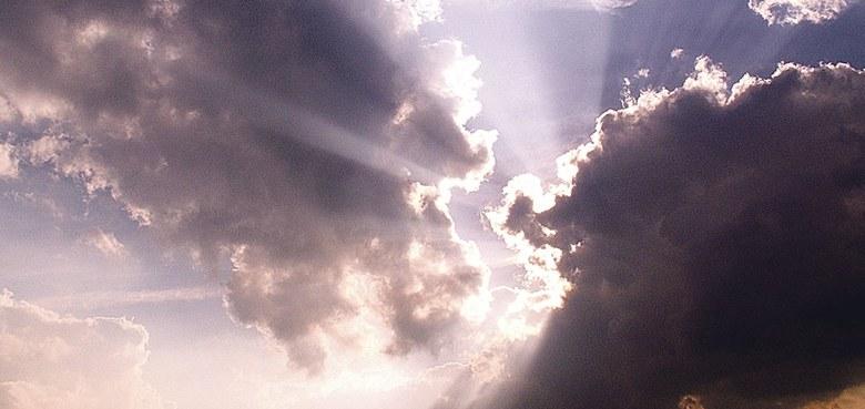 Da öffnete sich der Himmel