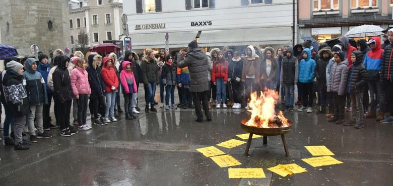 Eisen im Feuer - Fastenauftakt in Bregenz