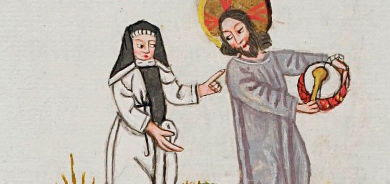 Mit Christus, dem Meister des Tanzes