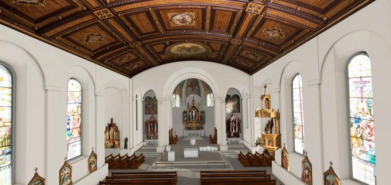 Neuer Glanz für die Pfarrkirche Lauterach