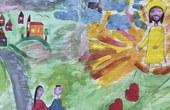Photo:  Kinderzeichnung aus der VS Oberhofen im Inntal