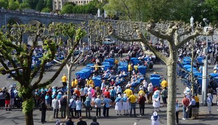 Vorschaubild KirchenBlatt-Reise Lourdes Mai 2019