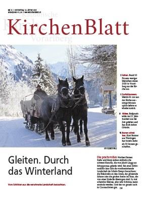 Titel KirchenBlatt Nr. 2 vom 14. Jänner 2021